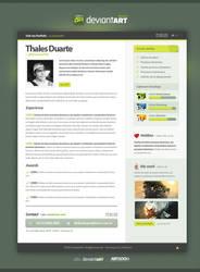 Resume -  DeviantART by LordVenomTLD