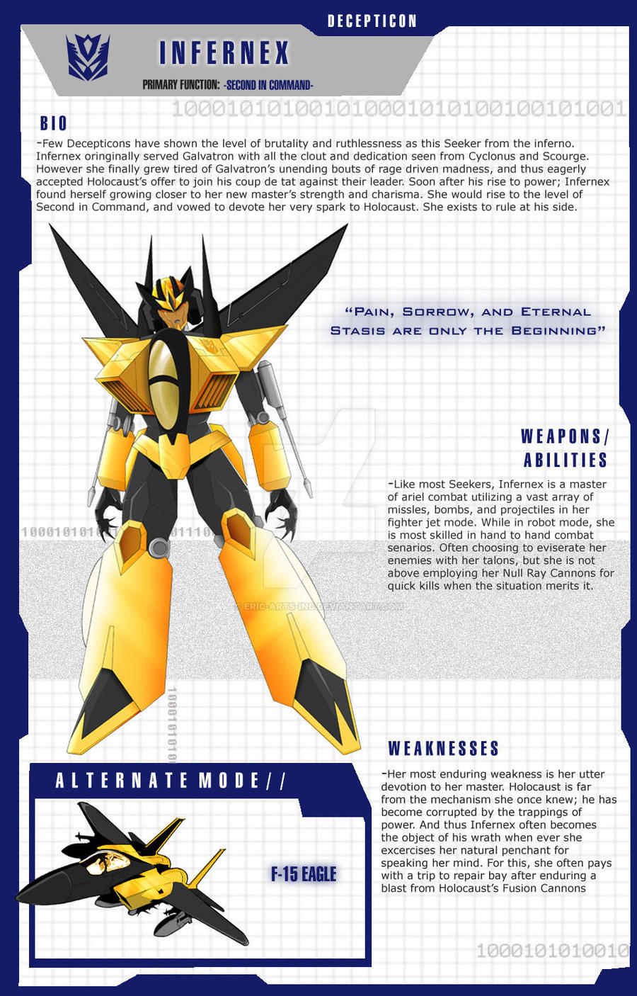 helicopter decepticon with Transformer Oc Infernex Character Sheet 365309369 on Transformer OC INFERNEX Character Sheet 365309369 moreover Mercedes Benz Amg Gt R Be es A Transformer In The Last Knight 116070501025 1 together with Blackout From Transformers 1 And 2 moreover Page7 furthermore Transformers The Last Knight Barricade 203111007 De.