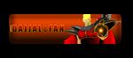 Dajjal Fan Button by ERIC-ARTS-inc