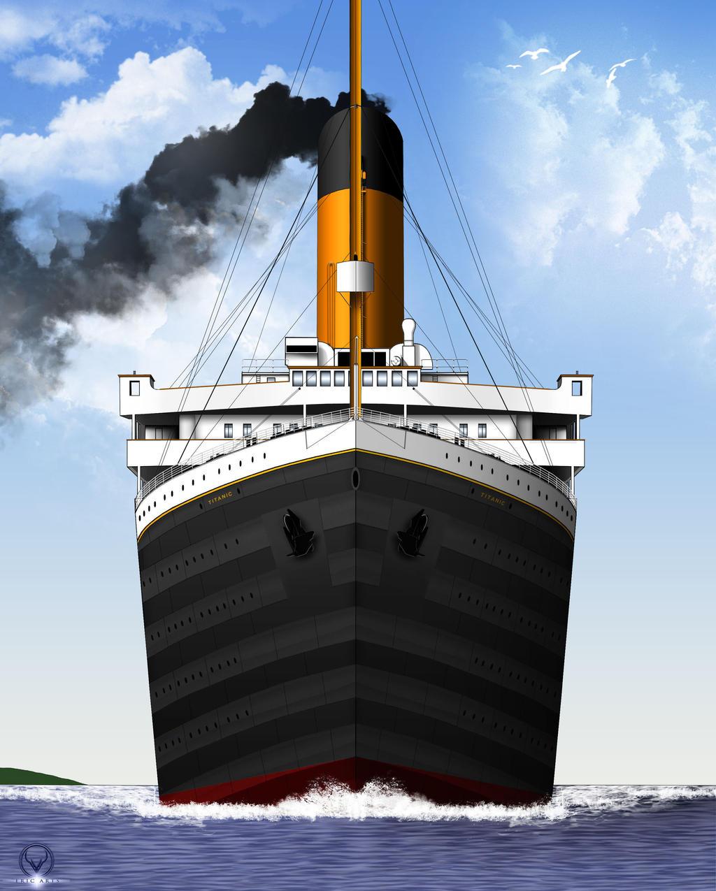 Titanic Wallpaper: TITANIC SETS SAIL Updated By ERIC-ARTS-inc On DeviantArt