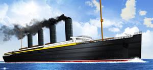 RMS LUSITANIA wip by ERIC-ARTS-inc