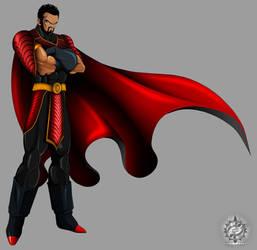 EMPEROR DAJJAL :IMPERIAL DRAGON ARMOR: by ERIC-ARTS-inc