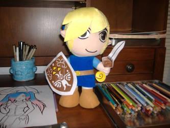 my Link plushie by LadyMarth