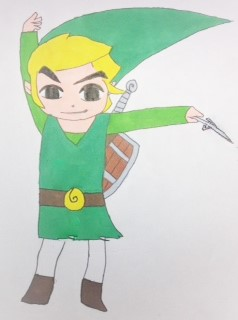 Wind Waker Link by mangagurl712