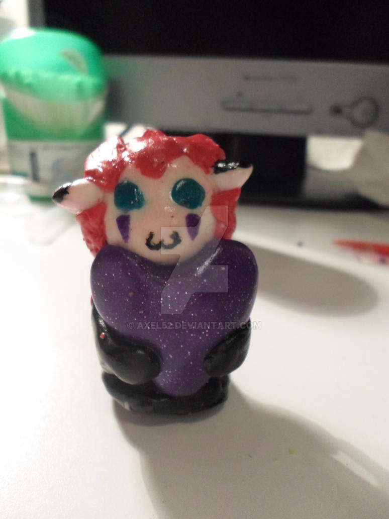 Polymer clay - Chibi Axel 2 by axel52