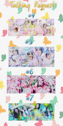 [Talking Request Part 1] #4 #5 #6 #7 and share PSD by MyMinniiee-PJ95