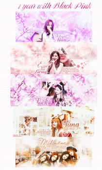 [T.R part ] #1 to #5 - 1 year with BLACKPINK