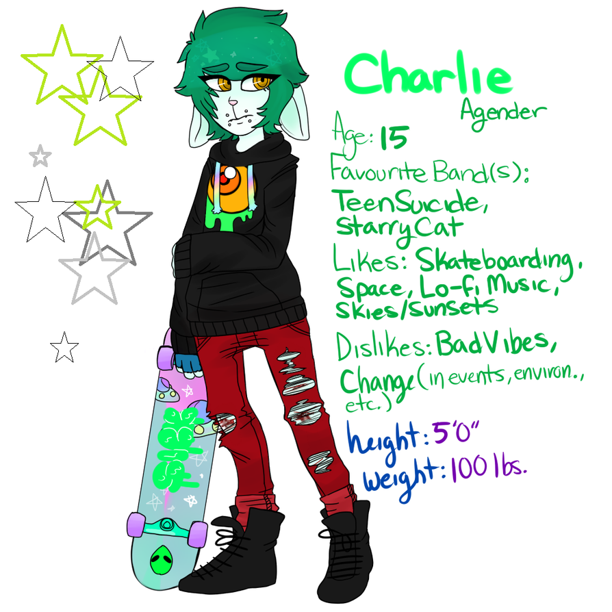 Charlie Ref by Ornate-Punk