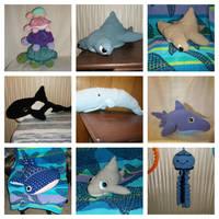 Ocean plushies of 2018