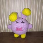 Whismur Pokemon amigurumi