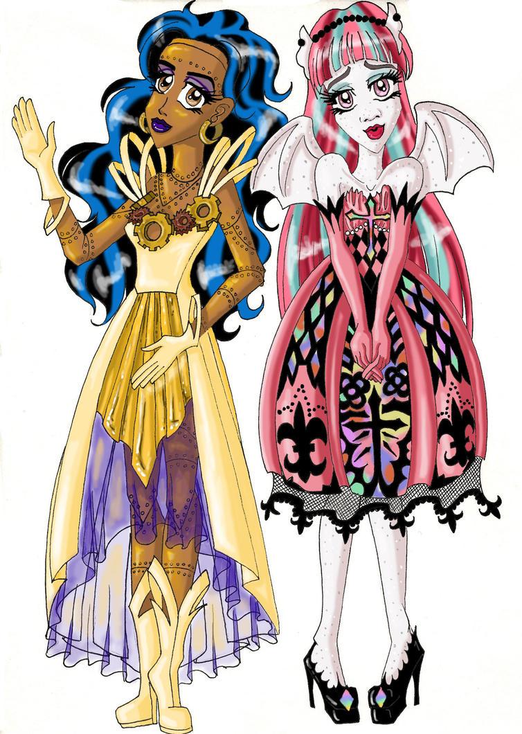 Monster high robecca rochelle by ladyzoragirl on deviantart - Robecca monster high ...