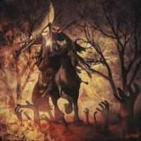 The Dark Rider by djz0mb13