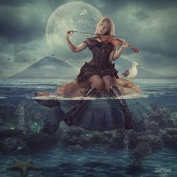 The Violinist by djz0mb13