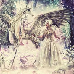 Ice Queen by djz0mb13