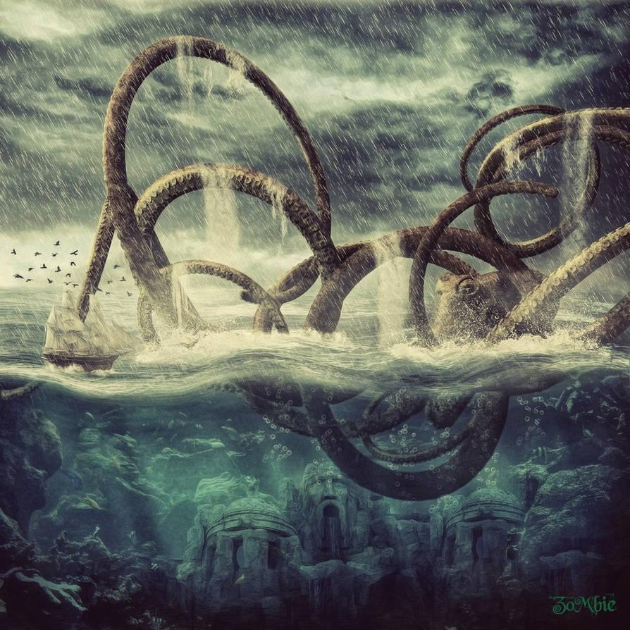 Kraken by djz0mb13