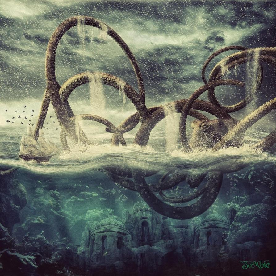 Kraken by djz0mb13 on DeviantArt
