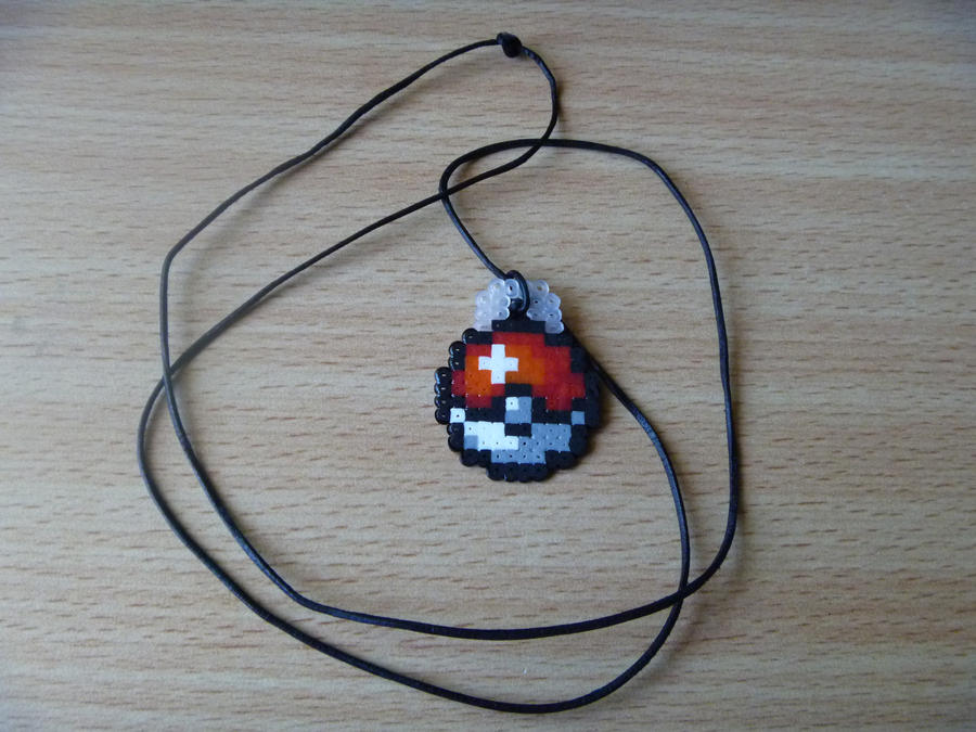 Pokeball Necklace by DisasterExe