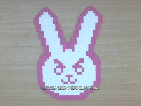 D.va Bunny Icon Fridge Magnet