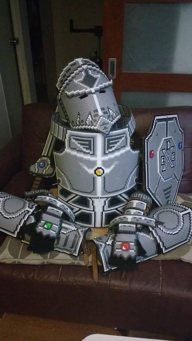 Perler armor progress