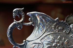flower pot dragon by theMuspilli