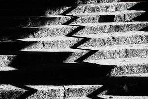 Assisi 2012 Stairs bw by theMuspilli