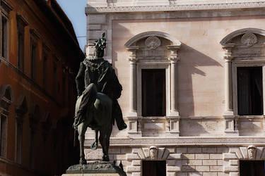 Perugia: VE at Piazza Italia