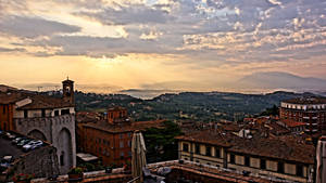 FullHD - HDR Painting: Perugian Sunrise 5499