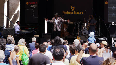 Umbria Jazz 2014: Allan Harris 3 colour