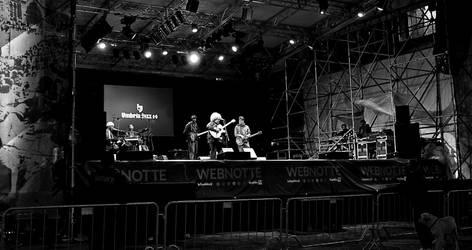 Umbria Jazz 2014: KJ Denhert 1, bw by theMuspilli