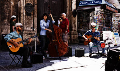 Umbria Jazz 2014: Bouncing Vibes on Corso Vannucci