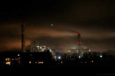 Night in Gotham City I by theMuspilli