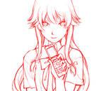 Gasai Yuno Sketch