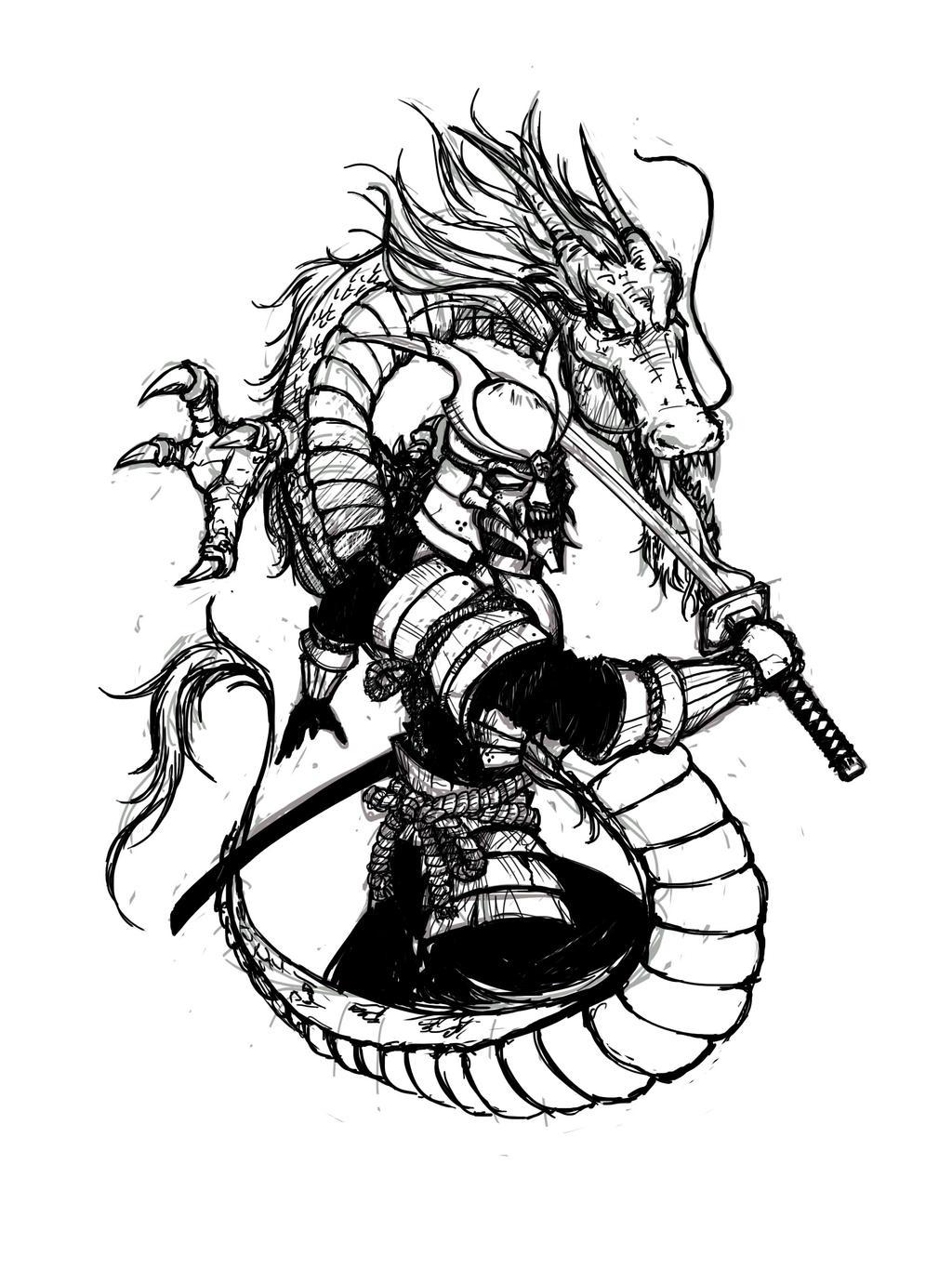Samurai Tattoo Drawings