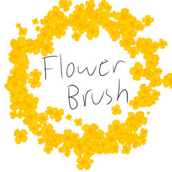 FireAlpaca Flower Brush by ArtistGracie