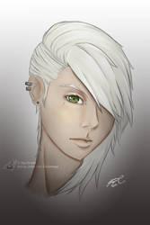 Portrait Scarlet Rae Drakona COLORED by JayCrest