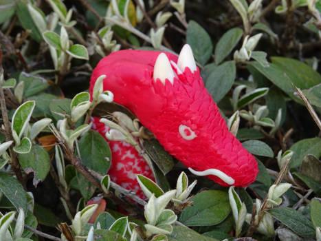 Street art : Red Dragon