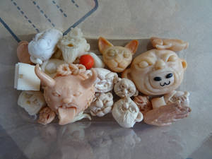 Work of the month with clay