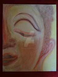 Libre Bouddha watercolor