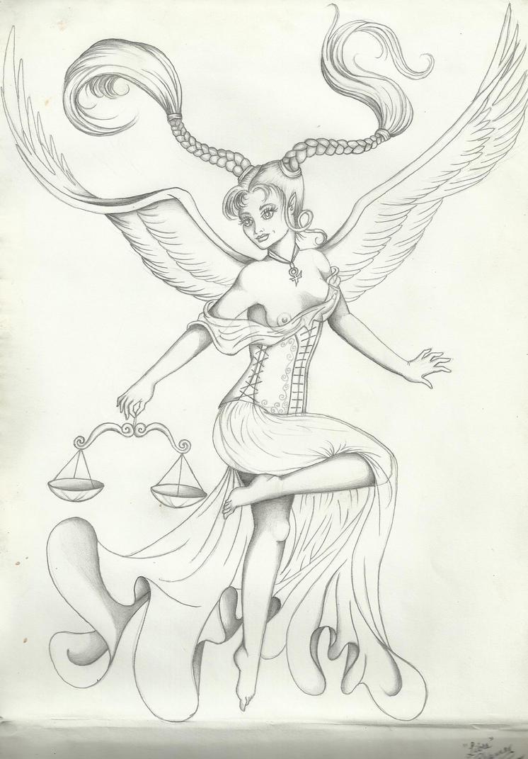 Libra Angel by LadyRhiannon824