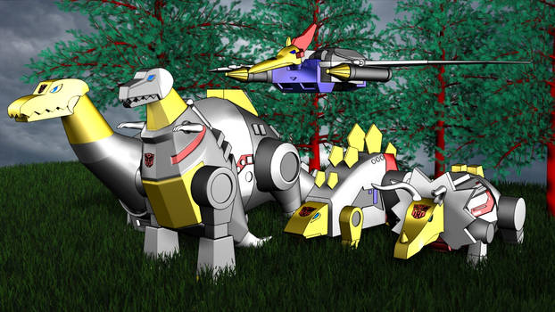 The Dinobots are ready