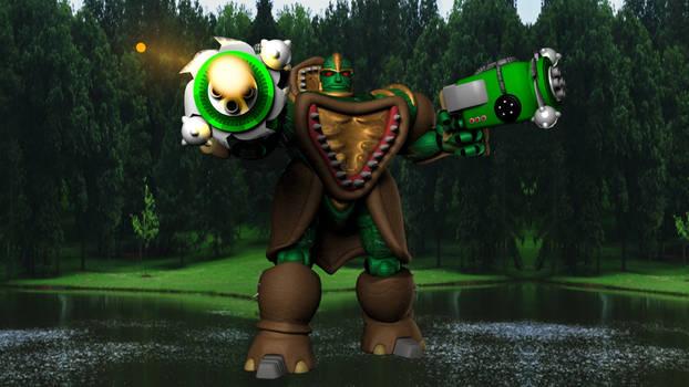 Green Mean Fighting Machine