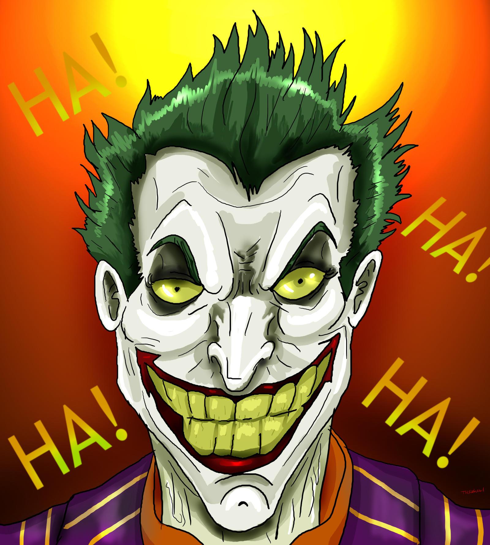 Znalezione obrazy dla zapytania joker laugh