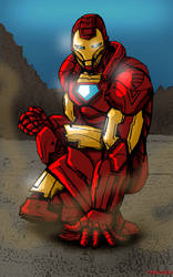 Iron Man Color by Wessel