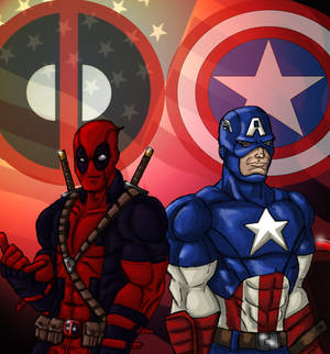 Cap and Deadpool