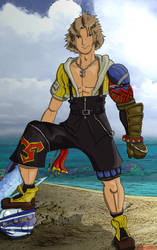Tidus Stand by Wessel