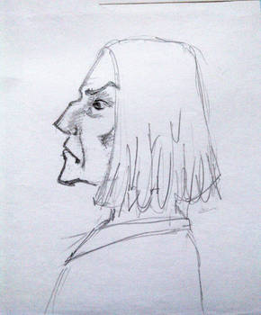 Old sketch 3 - Snape