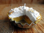 pretended pumpkin meringue pie