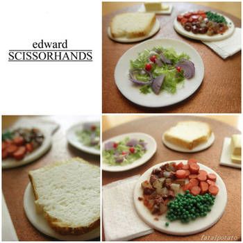 1:12 edward scissorhands: dinner with the boggs by FatalPotato