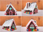 small house of gingerbread angles
