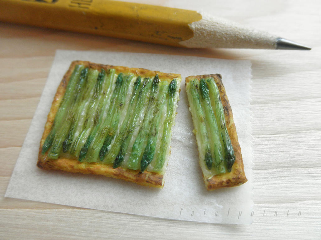 1:12 tart of asparagus by FatalPotato